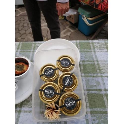 Икра улитки ахатина- вкуснее черной